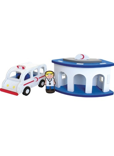 Bizim Hastane 3D Puzzle-Bebox